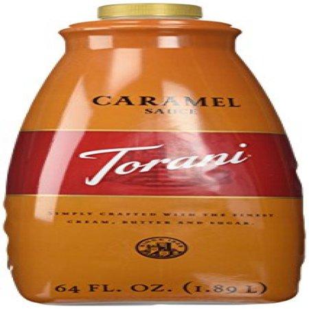Torani Caramel Sauce, 64-Ounce - Caramel Sauce For Cheesecake