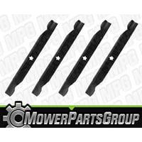"D178 (4) AYP 42"" Cut Blades Replaces AYP Craftsman 138971"