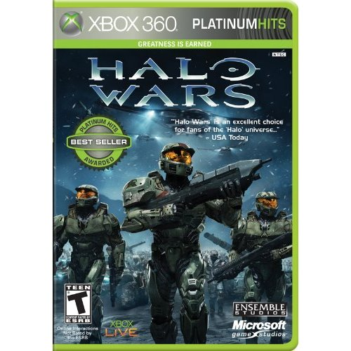 Microsoft Halo Wars Platinum Hits Strategy Game - Xbox 360 - English (xb3micc3v113)