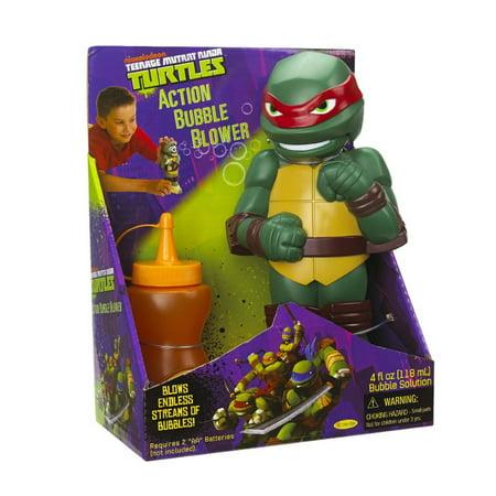 Little Kids Teenage Mutant Ninja Turtles Action Bubble Blower, - Kids Teenage Mutant Ninja Turtles