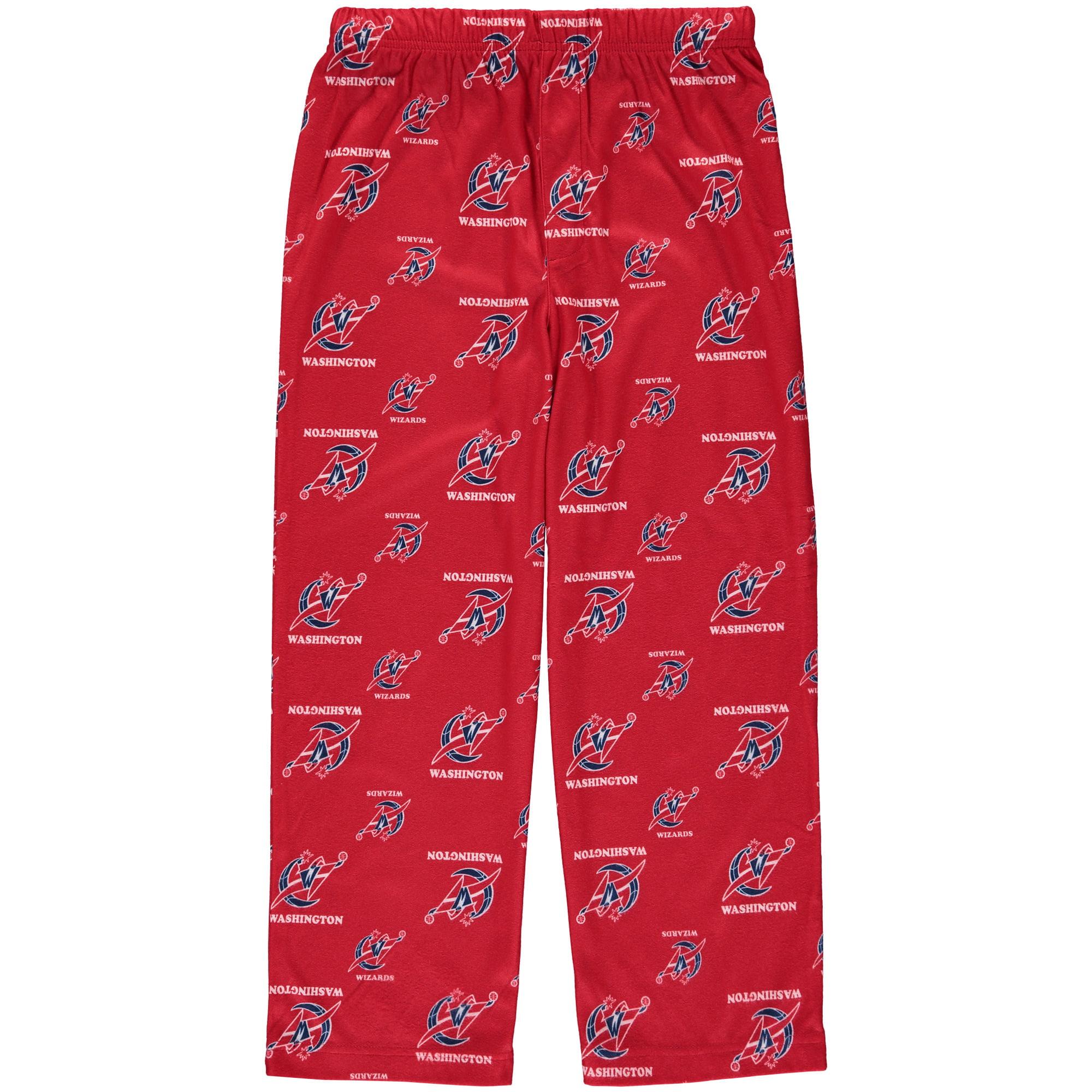 "Washington Wizards Youth NBA ""All Over"" Team Logo Pajama Sleep Pants"