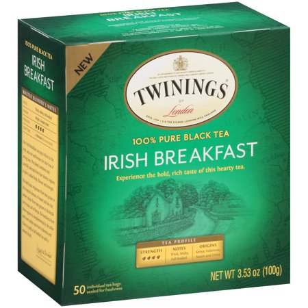 - Twinings Of London Irish Breakfast Black Tea - 50 CT