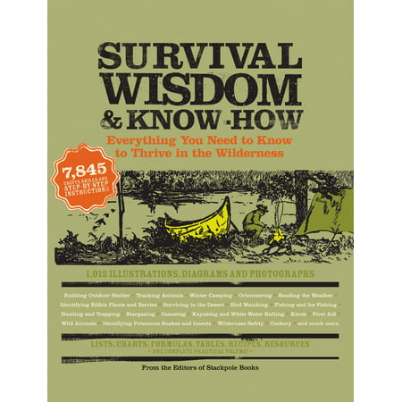 Survival Wisdom & Know How : Everything You Need to Know to Subsist in the (Basic Needs For Survival In The Wilderness)