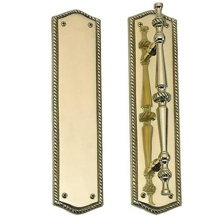 Brass Accents A06-P0251-613VB 2.75 x 11 in. Trafalgar Pull Plate, Venetian Bronze