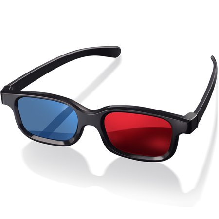 Red-Blue 3D Glasses For Movies Picture Games Home