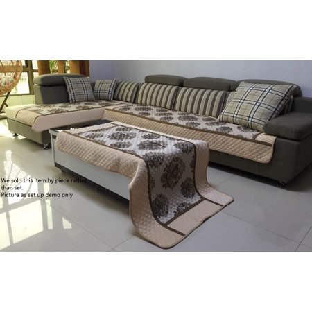 Ofit® High Quality Chenille Quilted Sectional Sofa Throw Pads Furniture Protector Sold By Piece Rather Than Set , 26x26