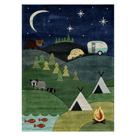 Momeni Lil Mo Whimsy Campground Area Rug