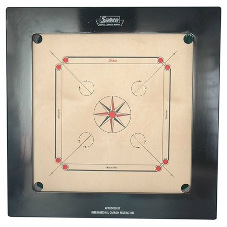 Surco Ace Bulldog Speedo Professional Carrom Board with Coins & Striker, 20mm](Georgia Bulldog Game)