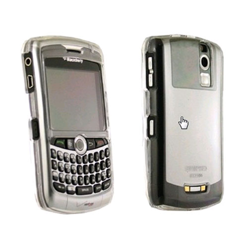 Seidio Innocase Crystal Case for BlackBerry Curve 8330 - Silver