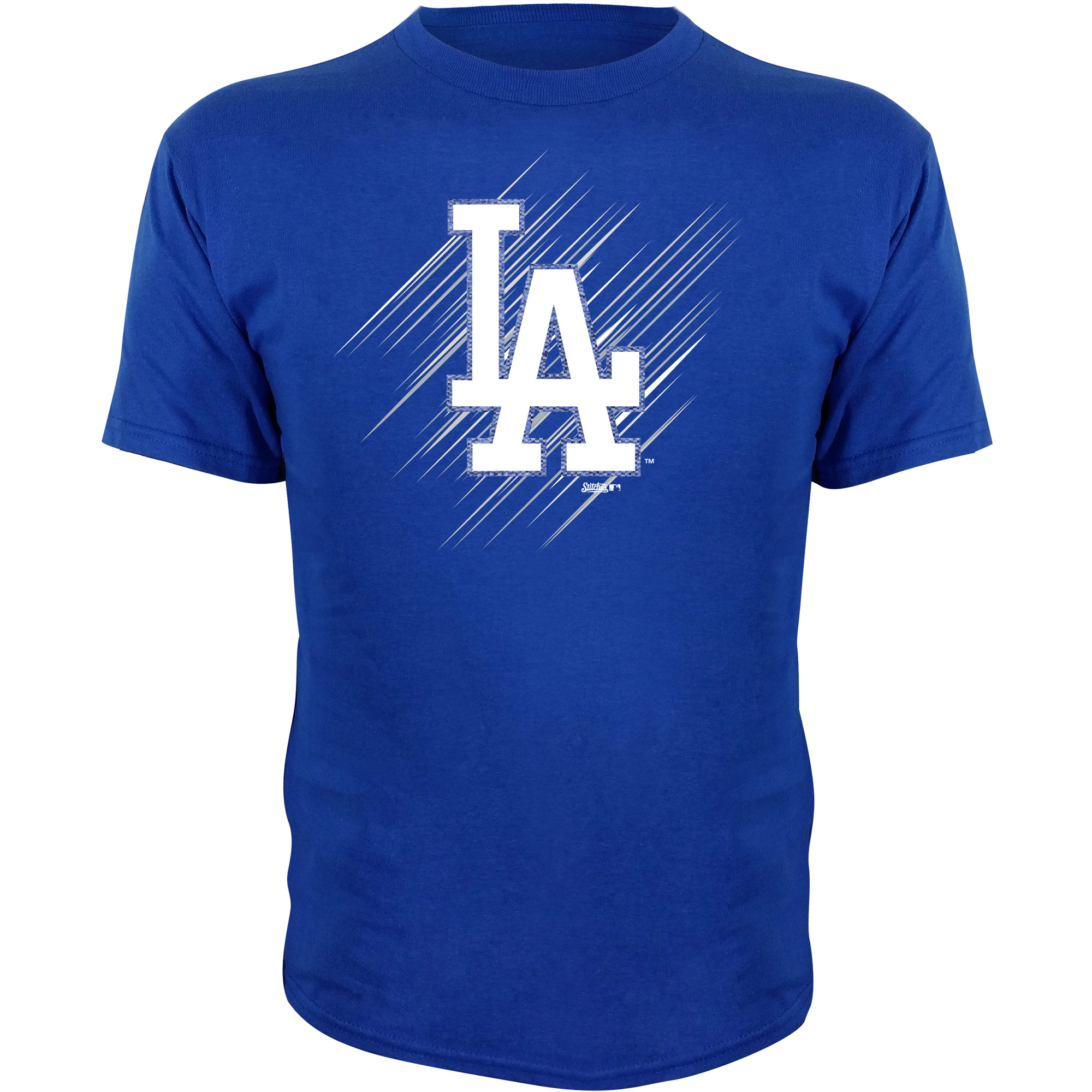 Los Angeles Dodgers Stitches Youth Team Logo T-Shirt - Royal