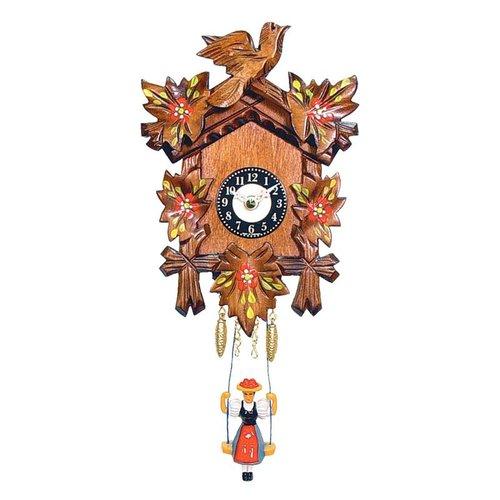 Alexander Taron 0126/6SQ Chime Quartz Cuckoo Wall Clock