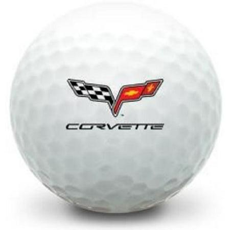 3 Dozen Gift Pack (Corvette Logo) Titleist Pro V1x Golf Balls #1 Ball In Golf !