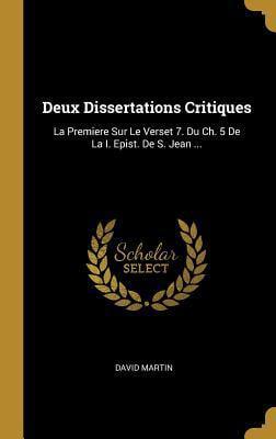 Dissertation sur le cid