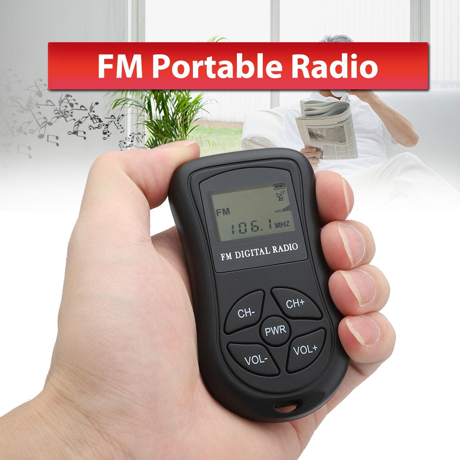 EEEkit Portable Pocket Transistor Radio 2 AAA Battery ...