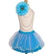Efavormart Snow Maiden Aqua Girls Ballet Tutu Skirt for Dance Performance Events Wedding Party Banquet Event Dance Skirt