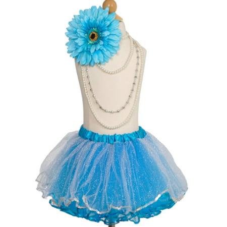 Efavormart Snow Maiden Aqua Girls Ballet Tutu Skirt for Dance Performance Events Wedding Party Banquet Event Dance Skirt](Tutu For Sale)