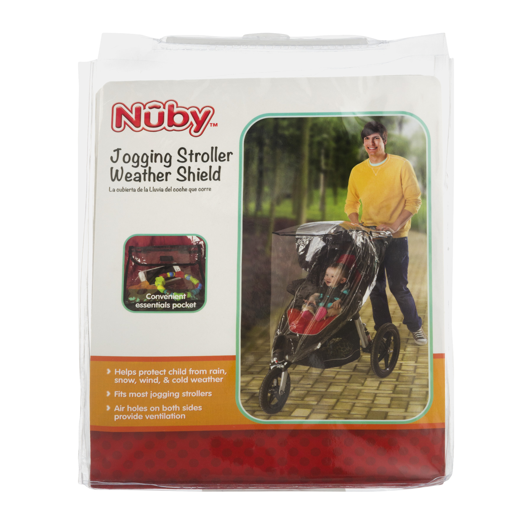 Nuby Jogging Stroller Weather Shield, 1.0 CT