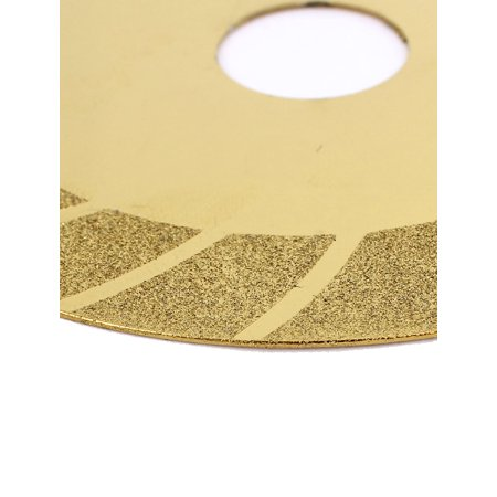 100mmx20mm Concrete Tile Diamond Grinding Polishing Wheel Cutting Disc Gold  Tone
