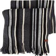 Ben Sherman Vertical Stripe Knit Scarf