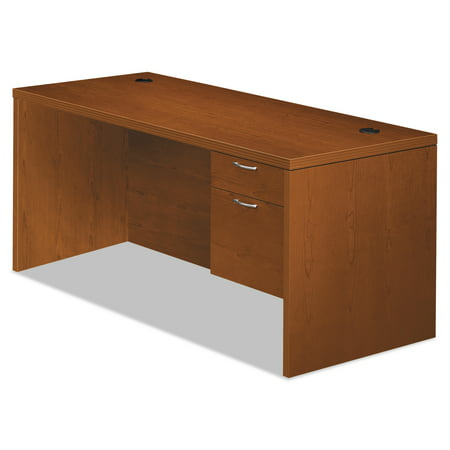 Hon Company Oak Desk - HON Valido 11500 Series Right Pedestal Desk, 72w x 36d x 29 1/2h, Bourbon Cherry