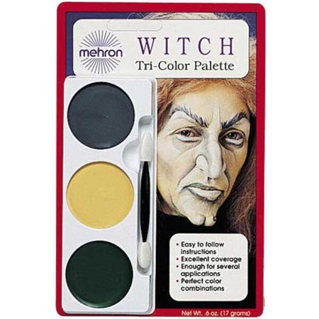 Makeup For A Witch (Ghoul/Witch Makeup kit)