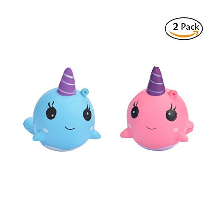 Squishy Justice : TSLIKANDO Soft Unicorn Jumbo Squishies Slow Rising Squeeze Toys, Squishy Charms Cream Scented ...
