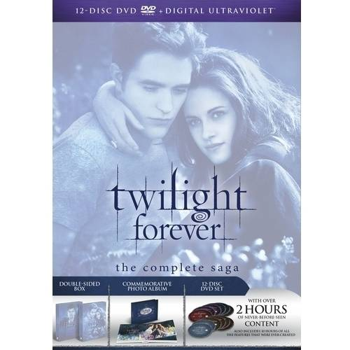 Twilight Forever: The Complete Saga - Twilight / New Moon / Eclipse / Breaking Dawn - Parts One And Two (With INSTAWATCH)
