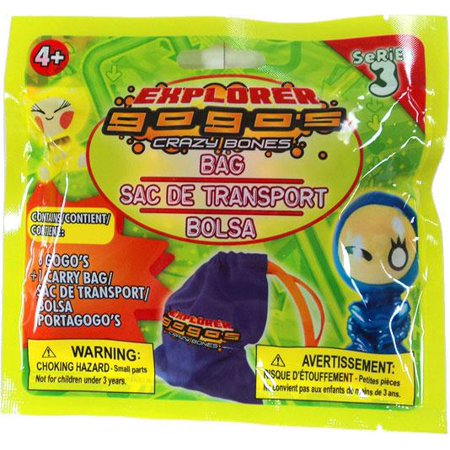 Crazy Bones Gogo's Series 3 Explorer Bag [6 Bones] - Crazy Action Contraptions