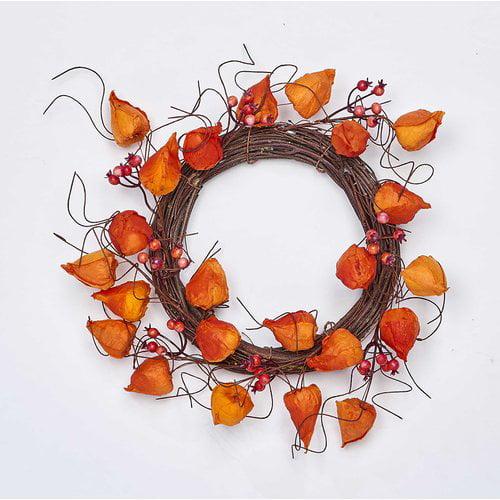 The Holiday Aisle Chinese Lantern 12'' Wreath