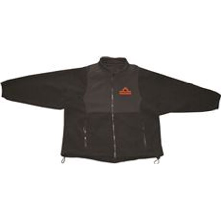 THERMAFUR AIR ACTIVATED HEATING FLEEECE SOFTSHELL JACKET, BLACK, X-SMALL
