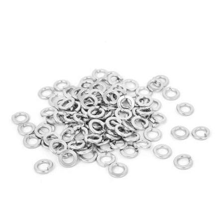 Stainless Split Lock Washer - 100pcs 304 Stainless Steel Split Lock Spring Washers #6 Screw Spacer Pad