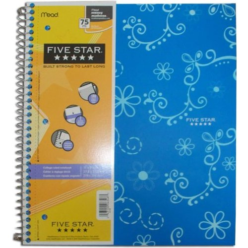 Mead 1-Subject Notebook