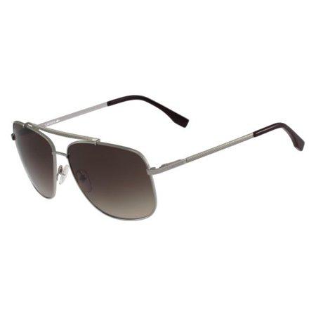 Lacoste Men's L188S L/188/S 035 Light Gunmetal Fashion Pilot Sunglasses 59mm ()