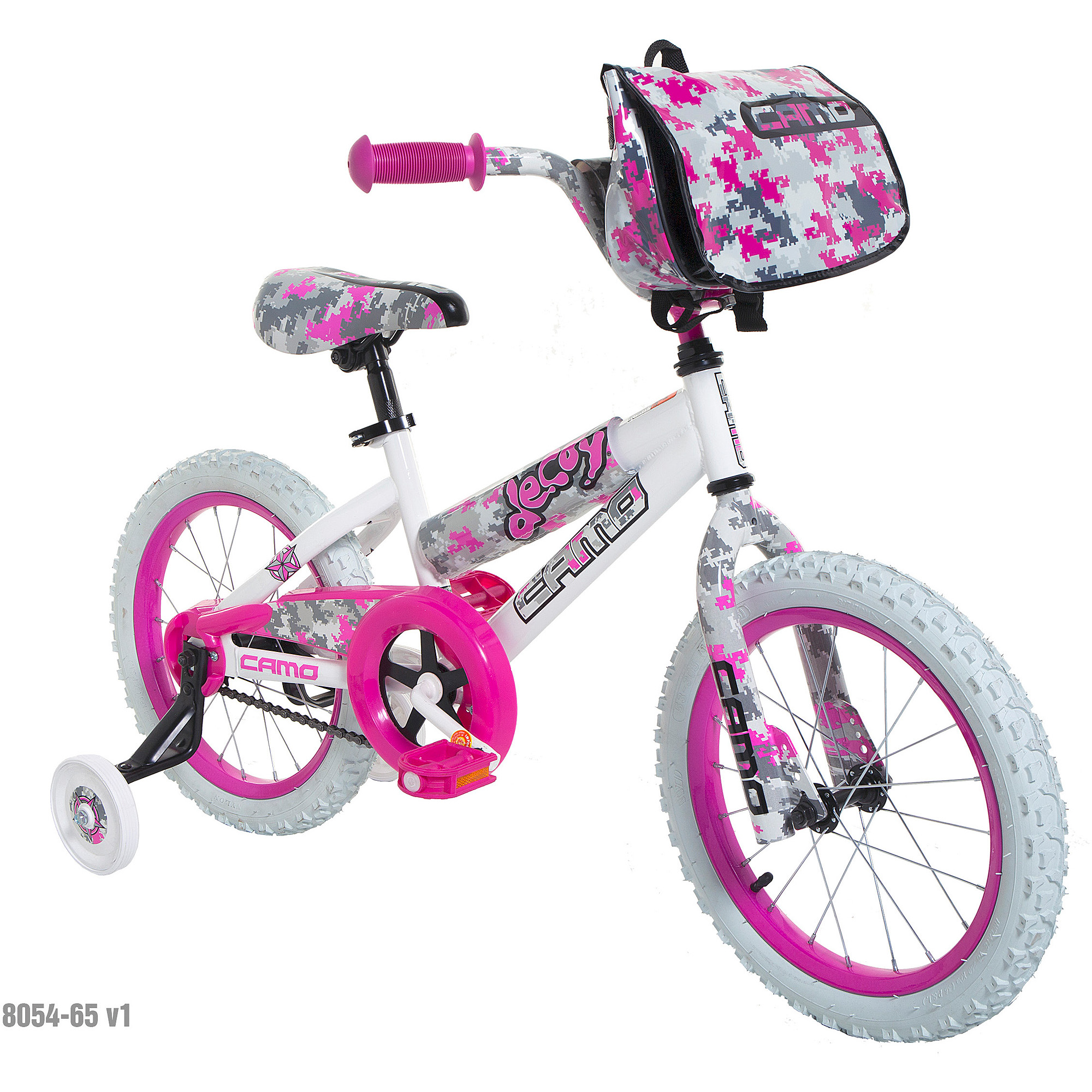 "16"" Camo Decoy Girls' Bike by Dynacraft"