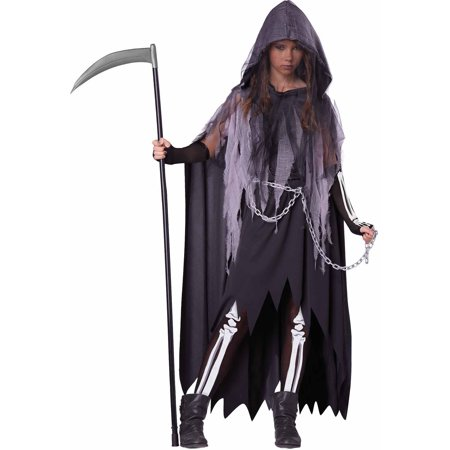 Teen Costumes For Girls (Miss Reaper Teen Halloween)