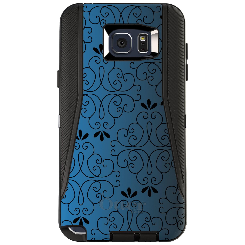 CUSTOM Black OtterBox Defender Series Case for Samsung Ga...