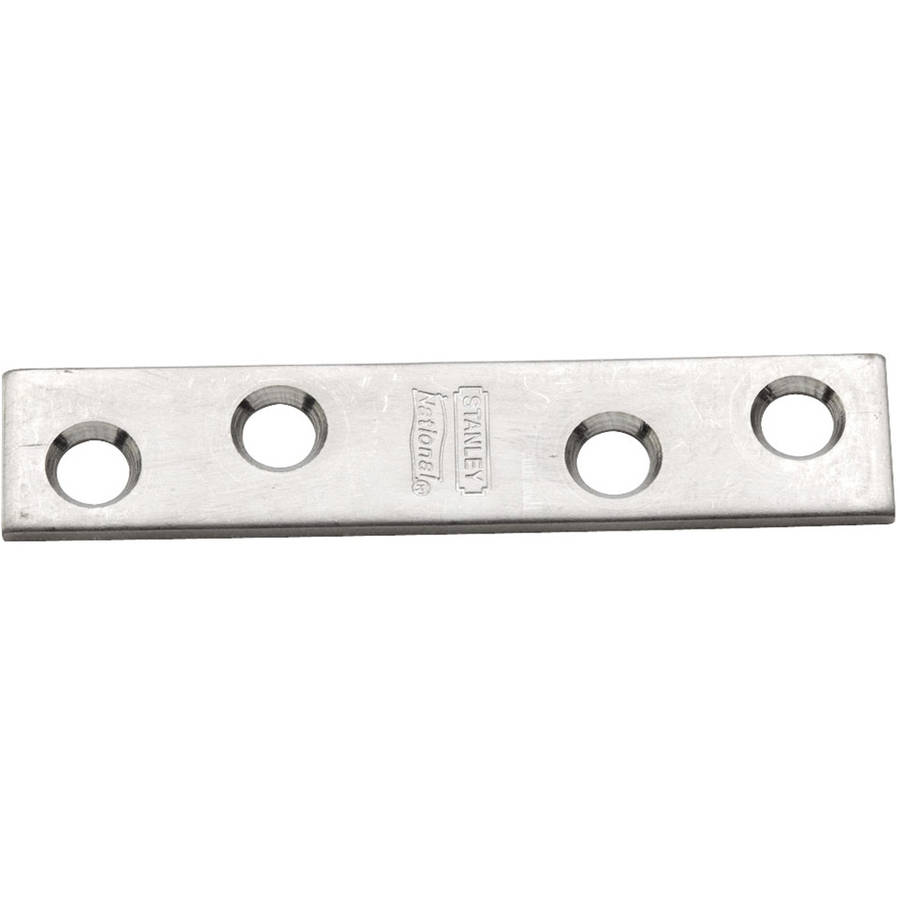 "Stanley S850-776 3"" x 5/8"" Stainless Steel Mending Brace, 2 Count"