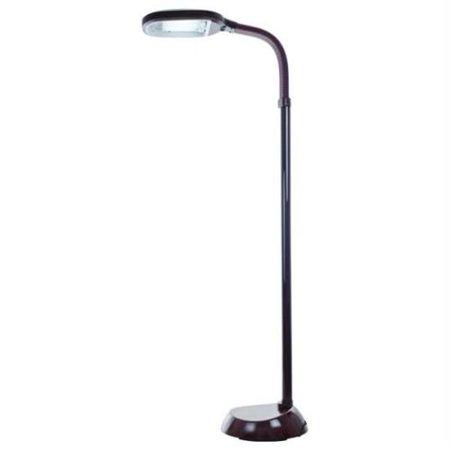 Quality living wood grain sunlight floor lamp 5 feet for Trademark home sunlight floor lamp wood grain