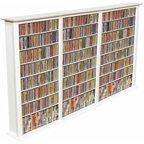 Venture Horizon Triple 50 Quot Cd Dvd Wall Media Storage Rack