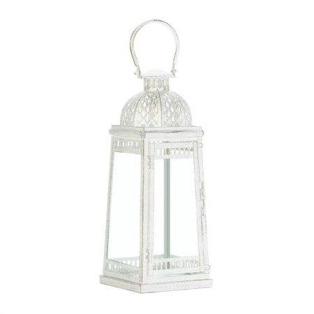 Decorative Candle Lantern, Large Moroccan Inspiration Lantern Candle Decorative ()