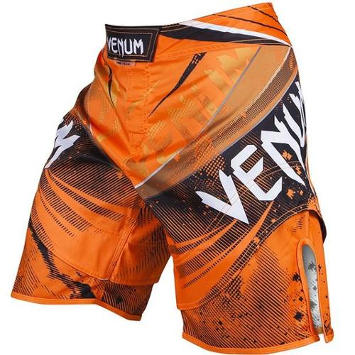 Galactic MMA Fight Shorts - XS - Neo Orange