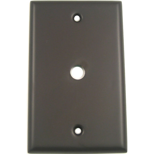 Rusticware 781 Single Cable Switch Plate from the Builders Hardware Collection