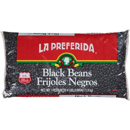 - La Preferida Black Beans, 64 oz, (Pack of 6)