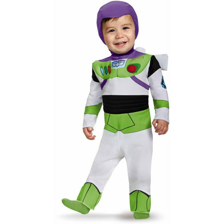 Toy Story Infant Buzz Lightyear Deluxe Costume](Buzz Light Year Dress Up)