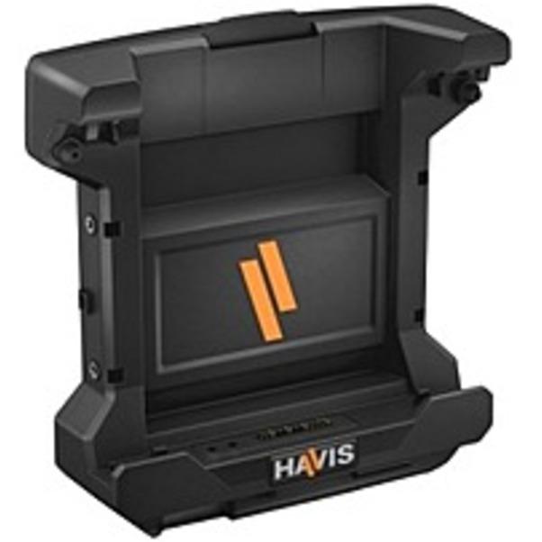 Refurbished Havis DS-DELL-600 Docking Station - for Tablet PC - Proprietary - 3 x USB Ports - 1 x USB 2.0 - 2 x USB 3.0 - Network (RJ-45) - VGA - DisplayPort - Audio Line Out - Microphone - Docking