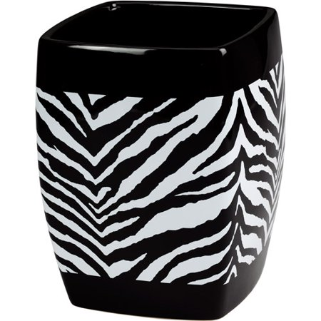 Creative Bath Creative Bath Zebra Waste Basket Walmart Com Walmart Com