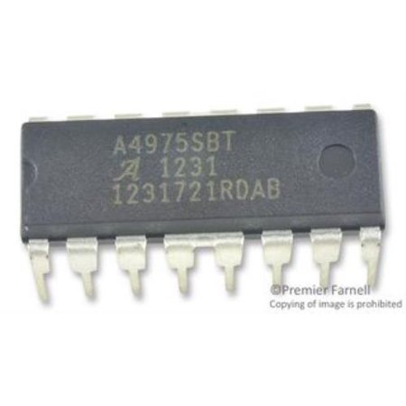 2X Allegro Microsystems A4975Sb-T Motor Driver, Pwm, Full Bridge, 1.5A, - 15a Motor