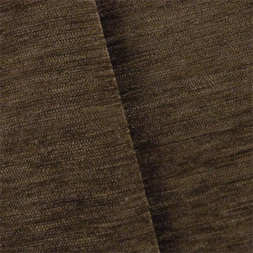 Bark Brown Dry Wash Chenille Upholstery Fabric, Fabric By the Yard