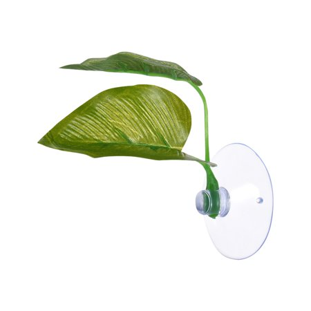 Artificial Plant Betta Hammock Fish Rest Bed Tropical Saltwater Fish Aquariums Supplies Including 2 Leaves