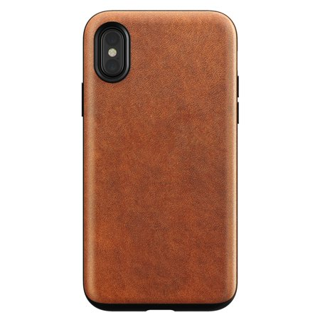 Nomad Rugged Leather Case Iphone X Brown